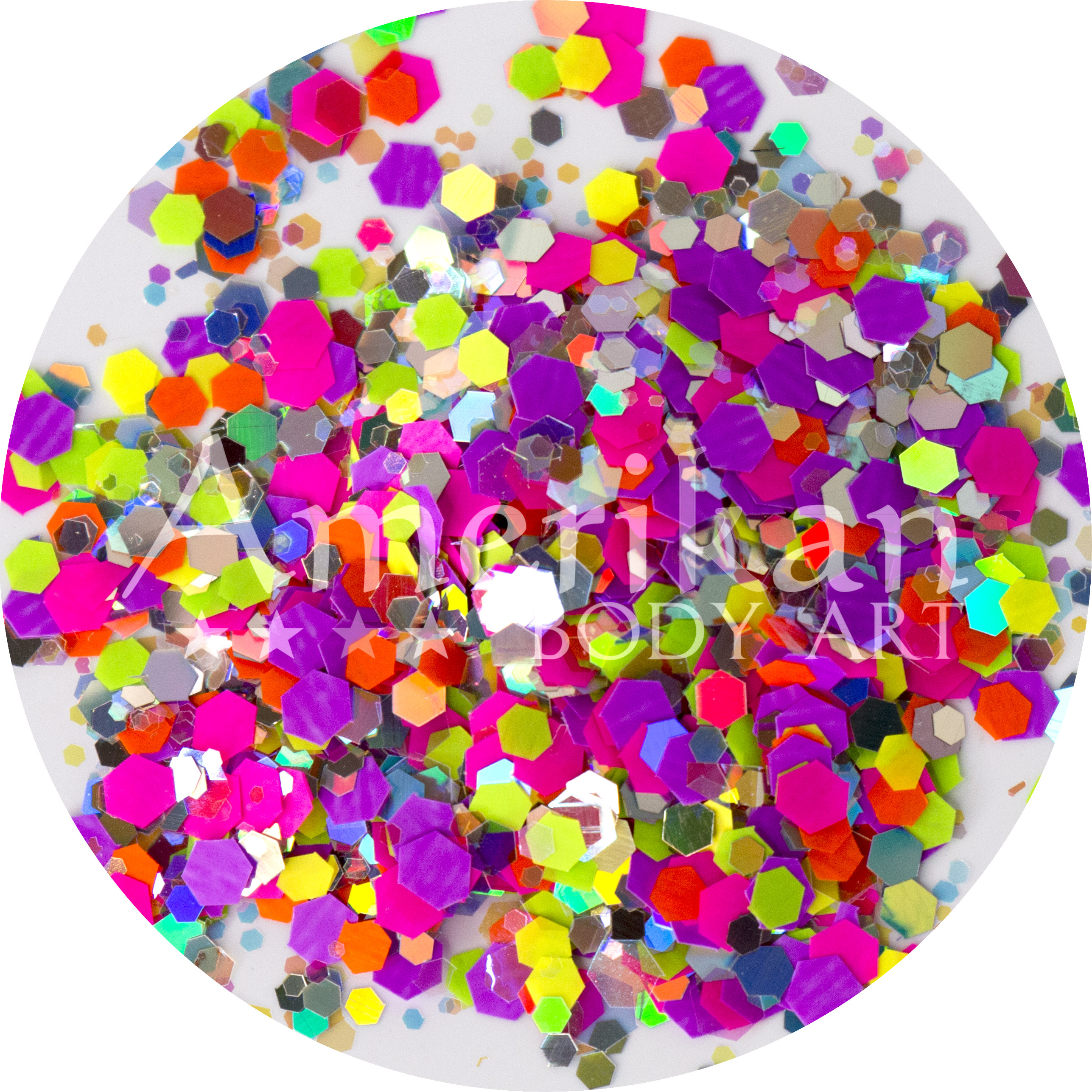 Ultraviolet Glitter Blend