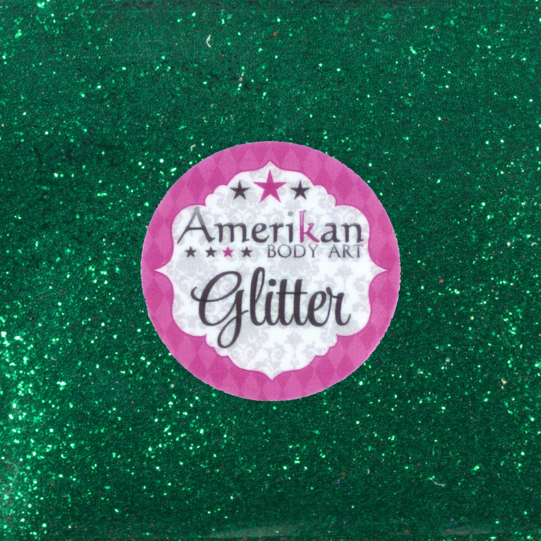 Emerald Green Bulk Glitter 1