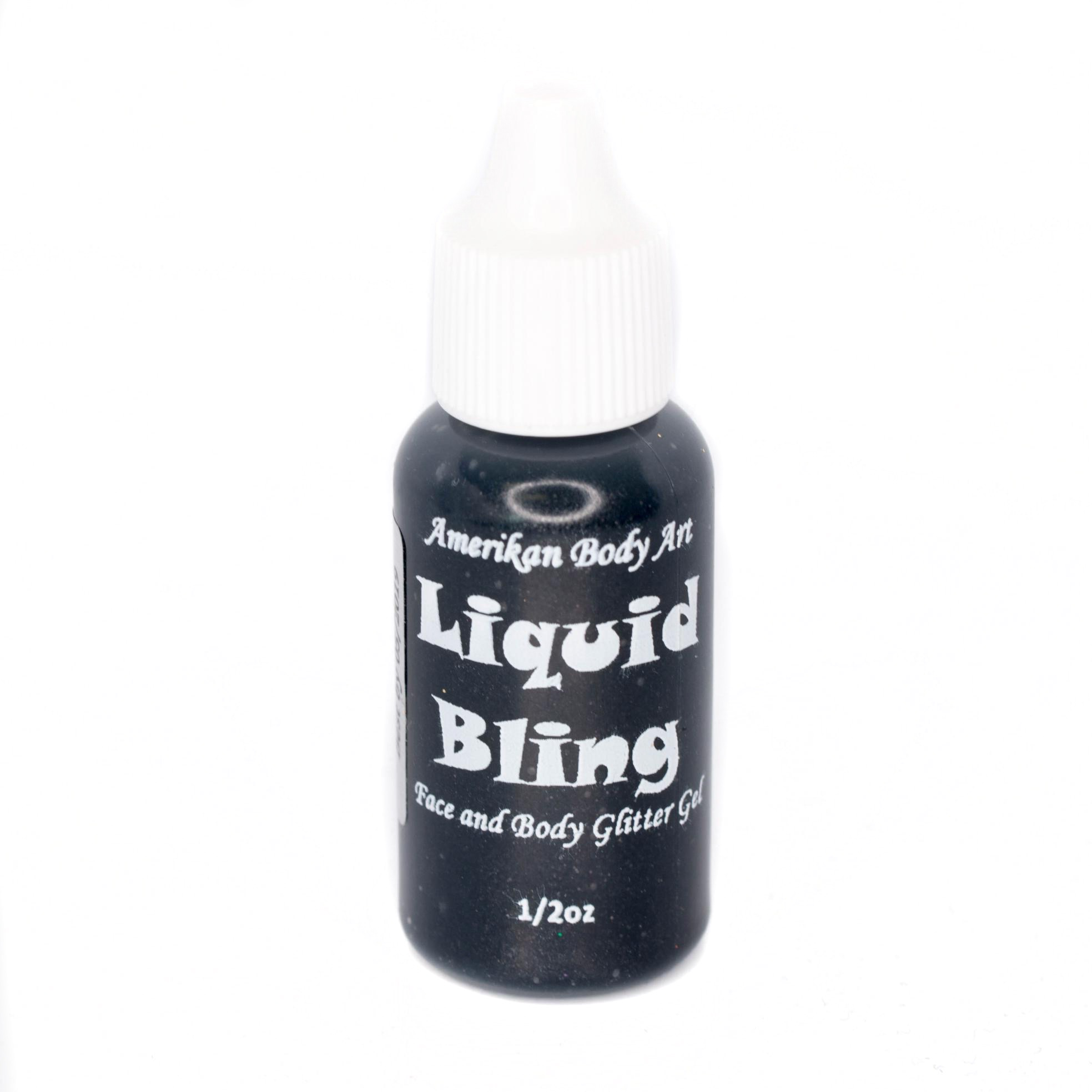 Jet Black Liquid Bling 1/2oz